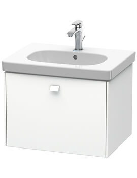 Duravit Brioso 1 Drawer Wall Mounted Vanity Unit For D-Code Basin