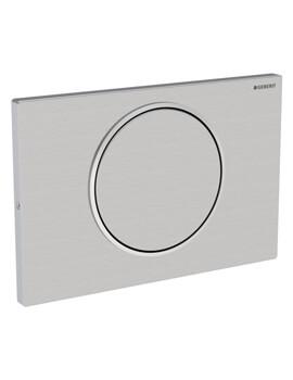 Geberit Sigma10 Lockable Single Flush Plate Stainless Steel
