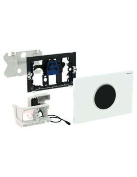 Geberit Sigma10 Mains Powered Dual Flush Plate