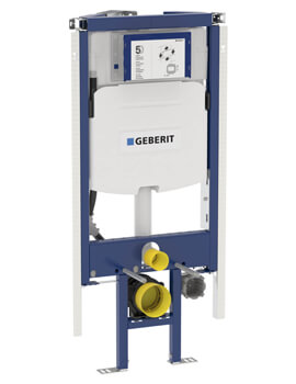 Geberit Duofix Corner Wall-Hung WC Frame 1120mm High With Cistern UP320