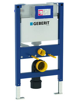 Geberit Duofix 820mm High WC Frame With Kappa Cistern 15cm