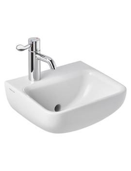 Armitage Shanks Contour 21+ 1 Taphole Back Outlet Washbasin