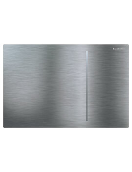 Geberit Sigma70 240 x 158mm Dual Flush Plate Brushed Stainless Steel