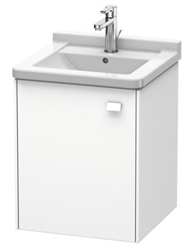 Duravit Brioso Wall Mounted 1 Door Vanity Unit For Starck 3 Basin