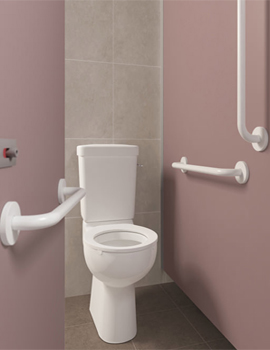 Armitage Shanks Doc M Ambulant Close Coupled WC Pack With Rails