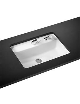 Armitage Shanks Contour 21 550mm Under-Countertop Basin With RH Dispenser