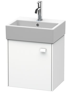 Duravit Brioso Wall Mounted 434mm Wide 1 Door Vanity Unit For Vero Air Basin