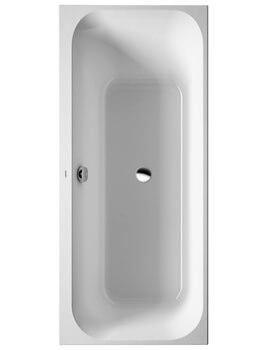 Duravit Happy D2 Built-In Bath Without Frame