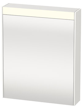 Duravit Brioso 620 x 760mm Single Door Mirror Cabinet