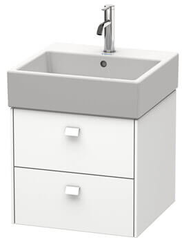 Duravit Brioso 2 Drawer Wall Mounted Vanity Unit For Vero Air Basin
