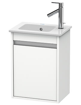 Duravit Ketho 1 Door 400mm Wall-mounted Vanity Unit With ME By Starck Basin