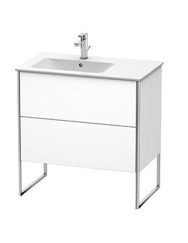 Duravit XSquare 2-Drawer Vanity Unit Floor-Standing - W 810 x D 478 x H 832mm