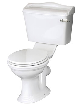 Hudson Reed Chancery 710mm Close Coupled WC Pan With Cistern