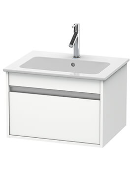 Duravit Ketho 1 Drawer Wall-mounted Vanity Unit With ME By Starck Basin