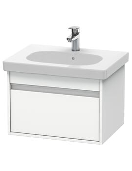 Duravit Ketho 1 Box Drawer Wall-mounted Vanity Unit For D-Code Basin
