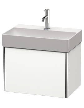 Duravit XSquare Compact 1-Drawer Vanity Unit Wall Mounted - W 584 x D 390mm
