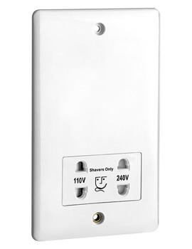 Hudson Reed Dual Voltage Shaver Socket
