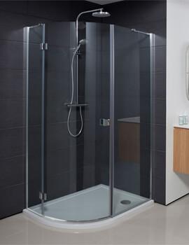 Crosswater Design Plus Quadrant Single Door Shower Enclosure
