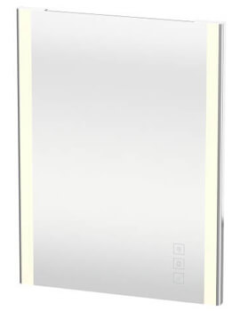 Duravit XSquare 600 x 33mm Mirror With Lighting