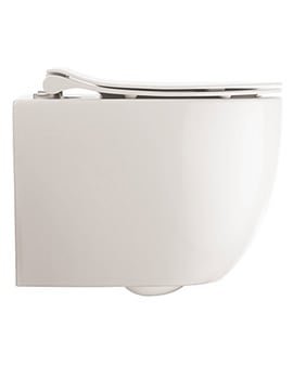 Crosswater Glide II Wall Hung Short Projection Rimless Toilet