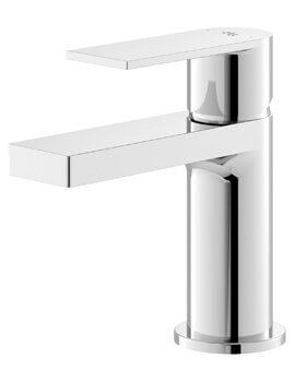 Hudson Reed Sottile Single Lever Chrome Basin Mixer Tap
