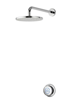 Aqualisa Quartz Concealed Digital Shower With Fixed Shower Head