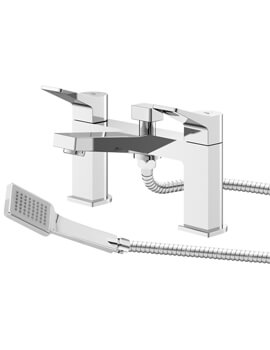Hudson Reed Soar Deck Mounted Bath Shower Mixer Tap