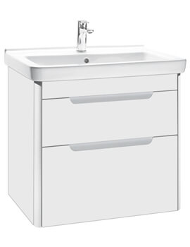 Roca Dama-N Wall Hung Vanity Unit With 2 Drawer