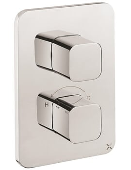 Crosswater Atoll Crossbox 2500 3 Outlet Thermostatic Valve