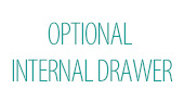 Optional Internal Drawer