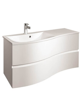 Crosswater Svelte 1000 x 520mm Unit With Basin