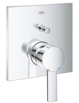 Grohe Allure Chrome Single Lever Mixer Valve With 2 Way Diverter
