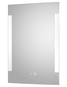 Hudson Reed Vivo 500 x 700mm LED Mirror Glass With Demister Pad
