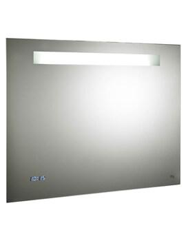Hudson Reed Vizor 650 x 800mm Touch Sensor LED Illuminated Mirror