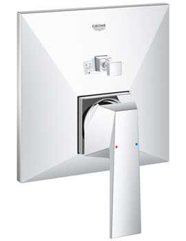 Grohe Allure Brilliant Chrome Single Lever Mixer Valve With 2 Way Diverter