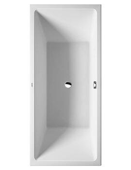 Duravit Vero Air 1800 x 800mm Back-To-Wall Seamless Panel Bath
