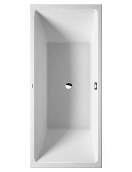 Duravit Vero Air 1800 x 800mm Freestanding Bath With Panel And Frame