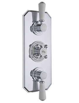 Hudson Reed Topaz Triple Thermostatic Shower Valve With Diverter