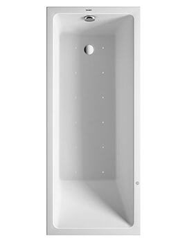 Duravit Vero Air Rectangle Whirltub With Air System