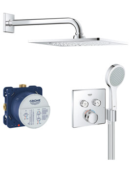 Grohe Grohtherm Smart Control With 2 Valve Perfect Shower Set