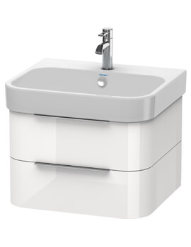 Duravit Happy D2 Wall Mounted 2 Drawers Vanity Unit