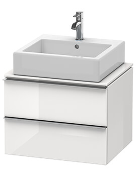 Duravit Happy D2 2 Drawers Wall Hung Unit For Console