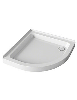 Mira Flight 2 Upstand Quadrant Shower Tray With Waste