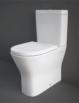 Rak Resort Comfort Height Close Coupled Back To Wall WC