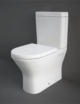 Rak Resort Comfort Mini Height Close Coupled Back To Wall WC