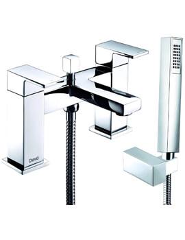 Deva Savvi MK2 Deck Mounted 2 Hole Bath Shower Mixer Tap