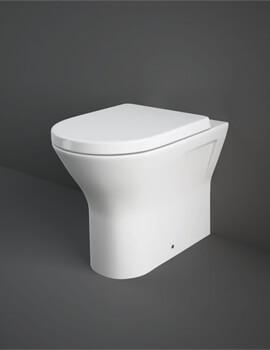 Rak Resort Back to Wall WC Pan With Soft Close Seat