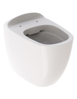 Geberit Citterio 360 x 560mm Rimless Back To Wall WC Pan Shrouded
