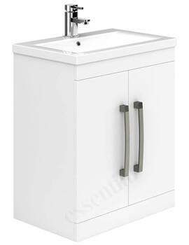 Essential Nevada 500mm 2 Door Vanity Unit And Basin