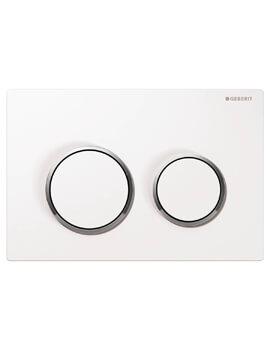 Geberit Kappa21 Plastic 212 x 142mm Dual Flush Plate